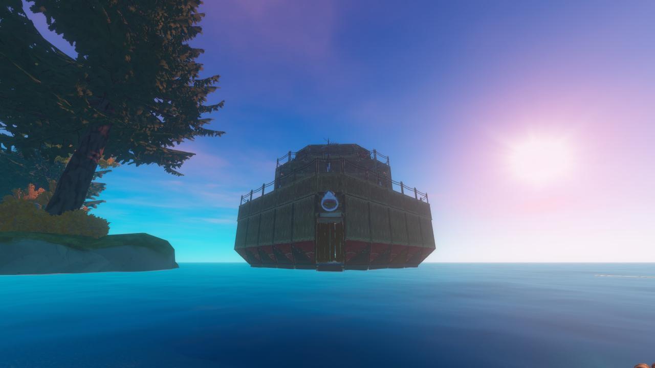 Descargar barco gigante de balsa para supervivencia (desbloqueo de logro maestro superviviente)