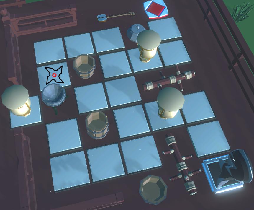 Chess Knights: Ubicaciones de entrada al nivel secreto de Shinobi