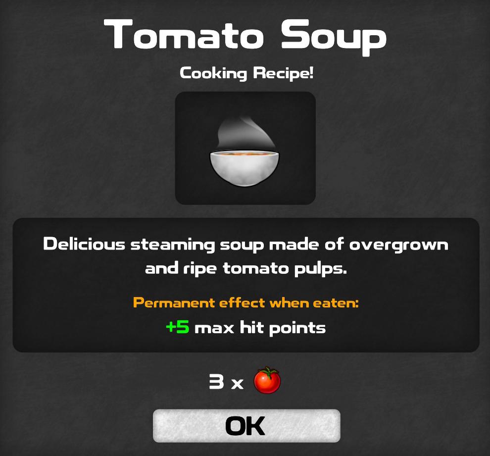 Guía de recetas de cocina de DYSMANTLE