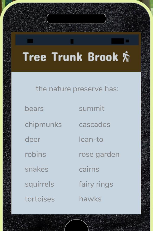 Tree Trunk Brook Todas las ubicaciones de artículos y vistas