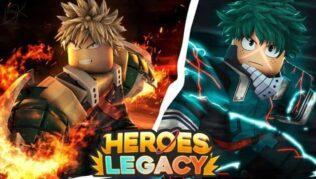 Roblox Heroes Legacy - Kodeliste (oktober 2021)
