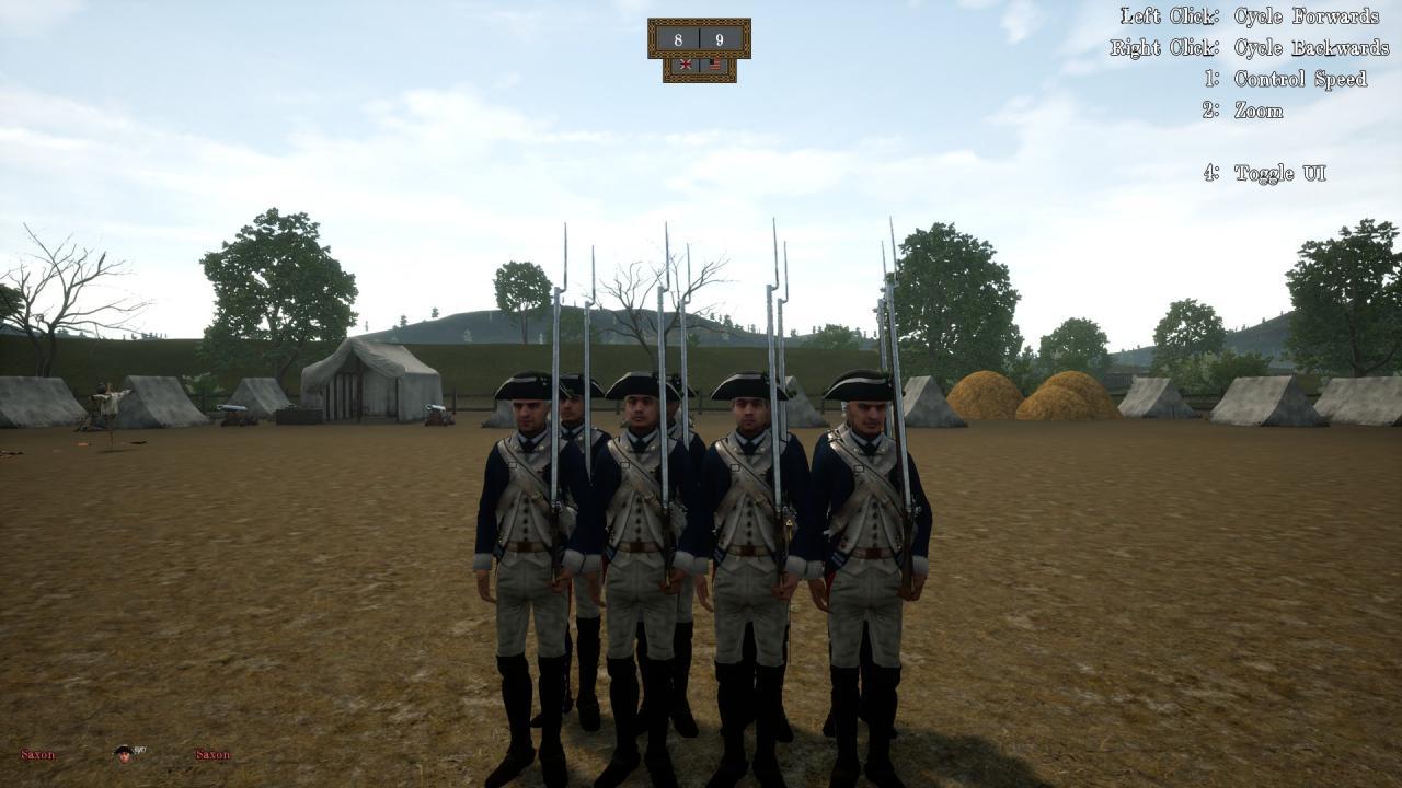 Prime & Load: 1776 Regimiento de Infantería de Guía Bose