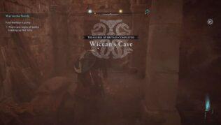 cómo conseguir el tesoro de bretaña de la cueva wicca en assassins creed valhalla