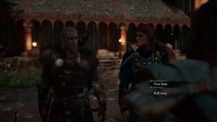 matar o dejar libre al guerrero nordico en assassins creed valhalla