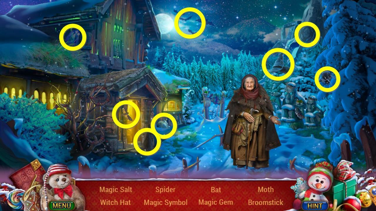 Christmas Adventures: A Winter Night's Dream Walkthrough & Achievements Guide