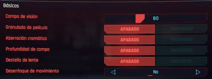 Cyberpunk 2077 Ajustes óptimos de gráficos y aumento de FPS 1