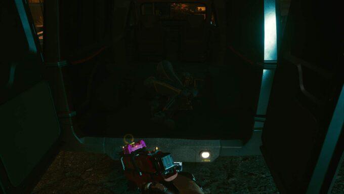 Dónde encontrar el robot roto en Cyberpunk 2077 para Encargo: Compañero de entrenamiento