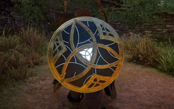 Assassin's Creed Valhalla escudo de morrigan