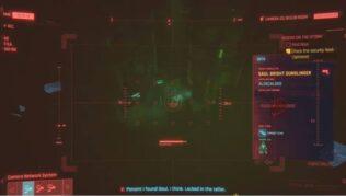 como comprobar las imagenes de seguridad en la mision tormentas imaginarias cyberpunk 2077