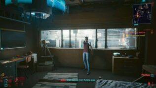 como encontrar y dialogar con anna hamill en el encargo la mujer de la mancha en cyberpunk 2077