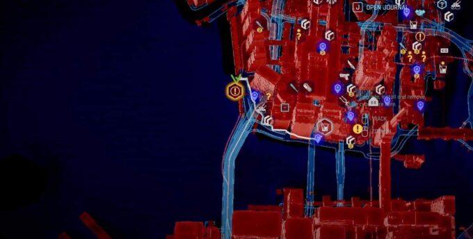 localización Defender épica Cyberpunk 2077