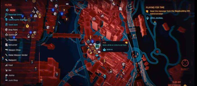 localizacion prostitutas cyberpunk 2077