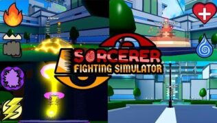 Sorcerer Fighting Simulator Lista de Códigos (Abril 2021)