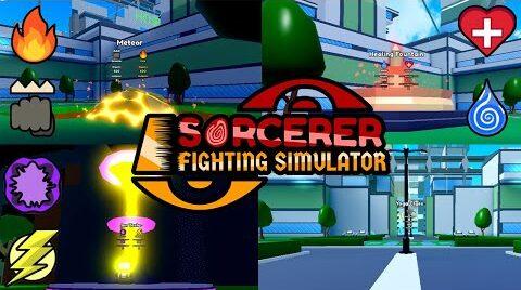 Sorcerer Fighting Simulator Lista de Códigos (Abril 2021)