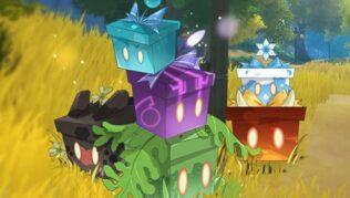 """Genshin Impact Evento """"Bazar de las maravillas"""" ¡abre cajas y consigue Protogemas!"""