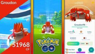 Pokemon GO - Cómo capturar a Groudon