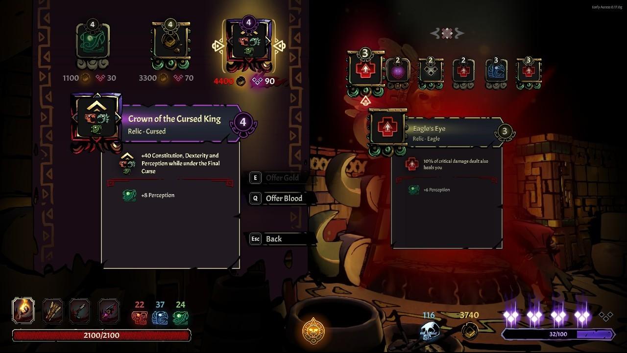 Curse of the Dead Gods Guía completa