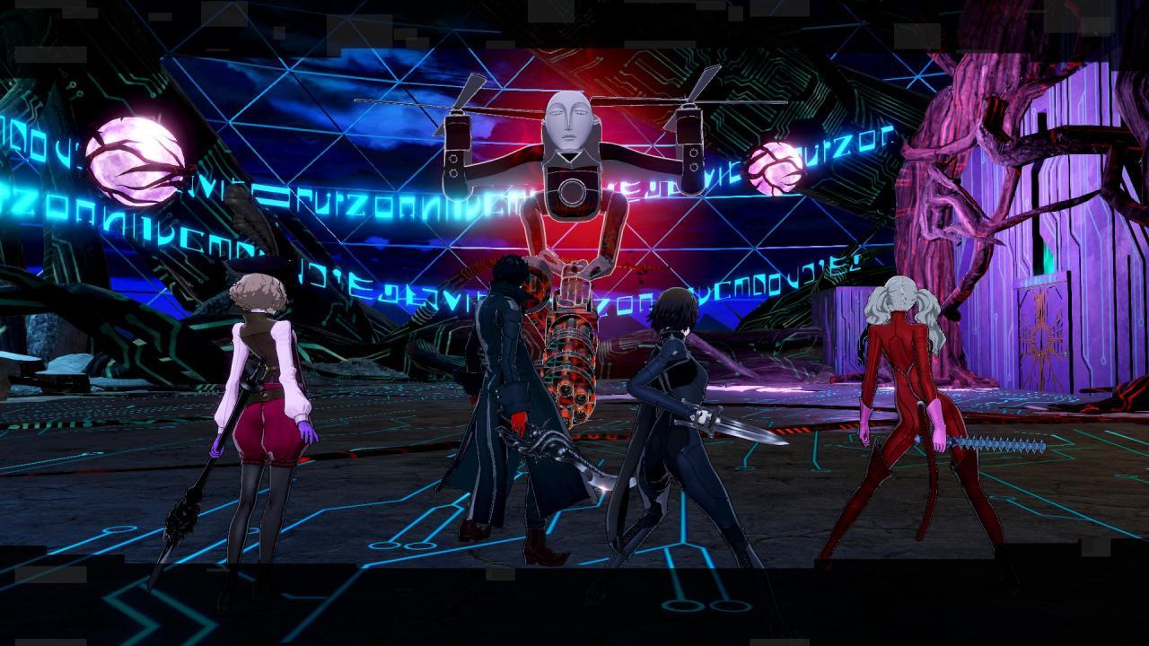 Persona 5 Strikers Farming BOND EXP con Metatron Sidequest (después del juego)