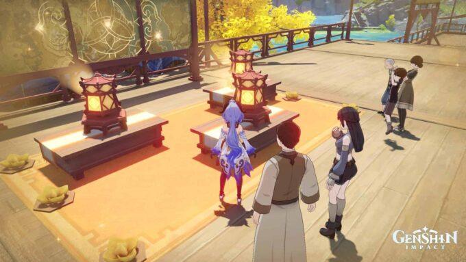 Genshin Impact Segunda parte del Rito de las Linternas