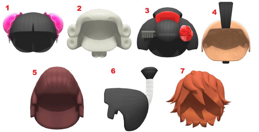 Todas las pelucas de Animal Crossing: New Horizons.