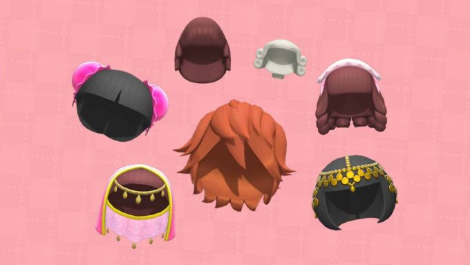 Animal Crossing New Horizons - Todas las Pelucas