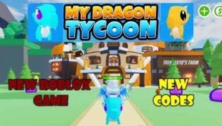 Roblox My Dragon Tycoon - Lista de Códigos (Abril 2021)