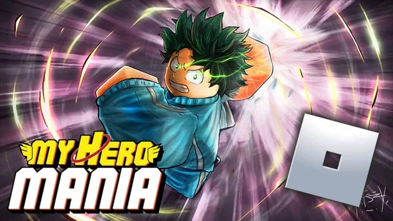 Roblox My Hero Mania - Lista de Códigos (Marzo 2021)