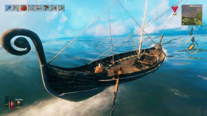 Valheim Cómo navegar contra el viento: una guía sencilla para virar