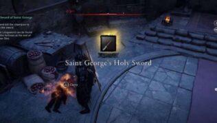 como conseguir la espada de san jorge assassins creed valhalla