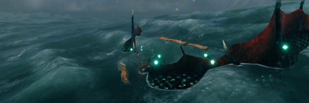 Cómo derrotar a una Serpente marina en Valheim