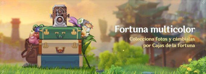 Genshin Impact Fortuna multicolor