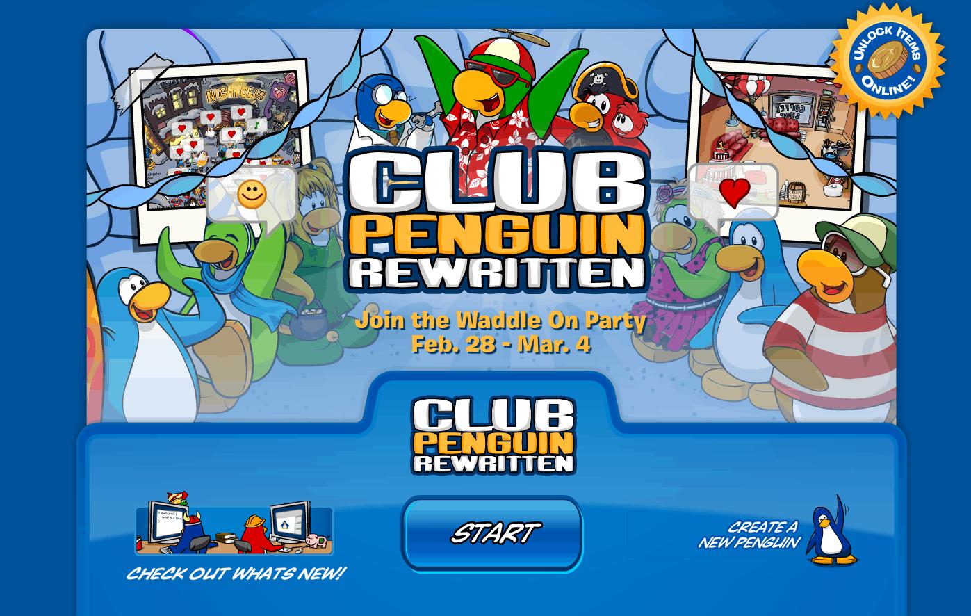 Club Penguin Rewritten – Lista de Códigos Julio 2021