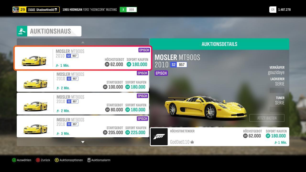 El auto más rápido de Forza Horizon 4 para principiantes