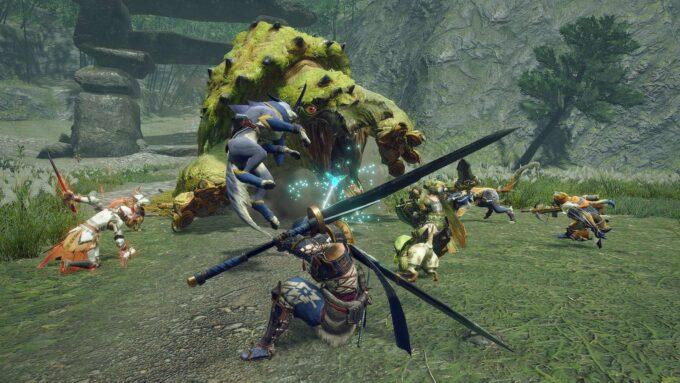 Monster Hunter Rise - Cómo curarte en medio de una cacería
