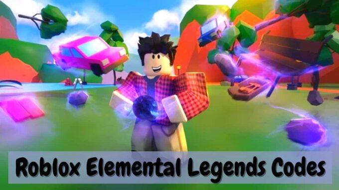 Roblox Elemental Legends - Lista de Codigos Abril 2021