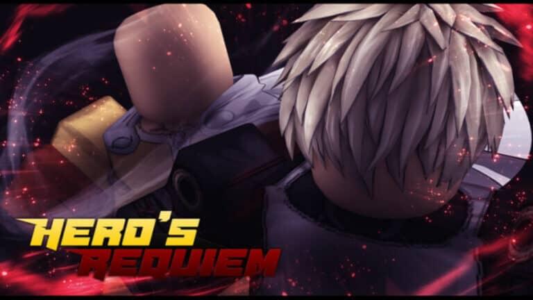 Roblox Hero's Requiem Lista de Códigos Septiembre 2021