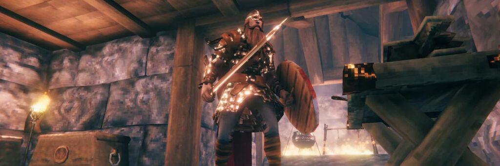 como conseguir una espada de metal negro en valheim