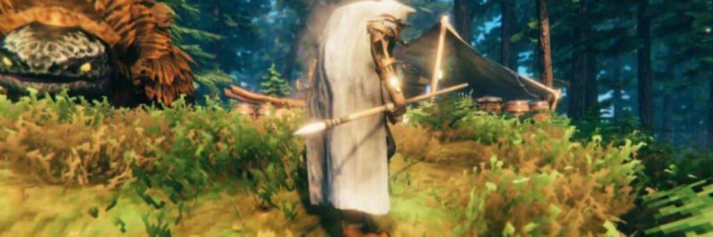 como conseguir lanza de colmillo en valheim