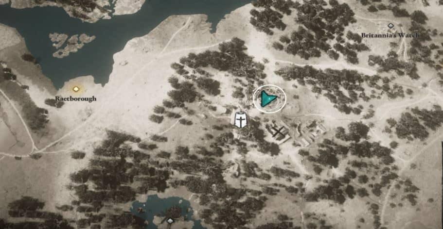 localizacion de cordelia assassins creed valhalla