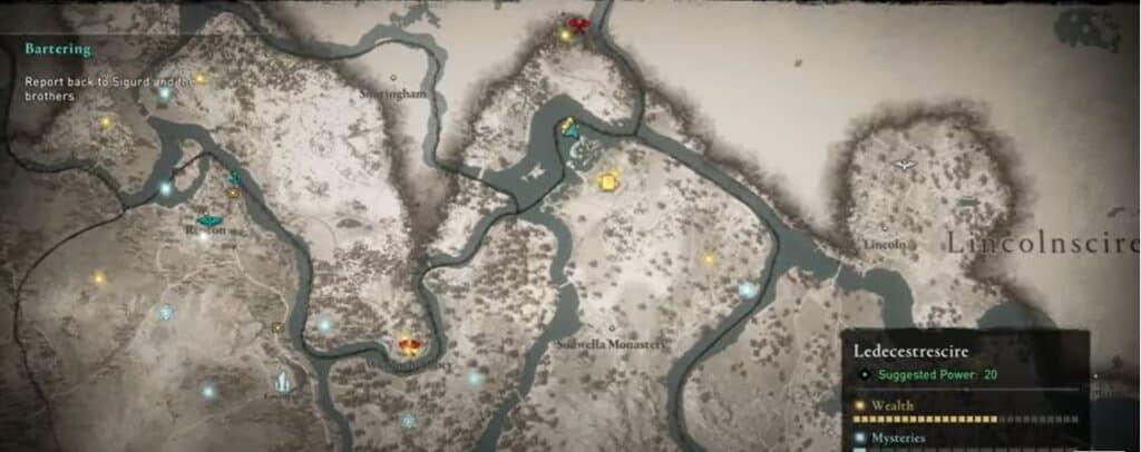 Localización de la Capa del Cazador en Assassin's Creed Valhalla