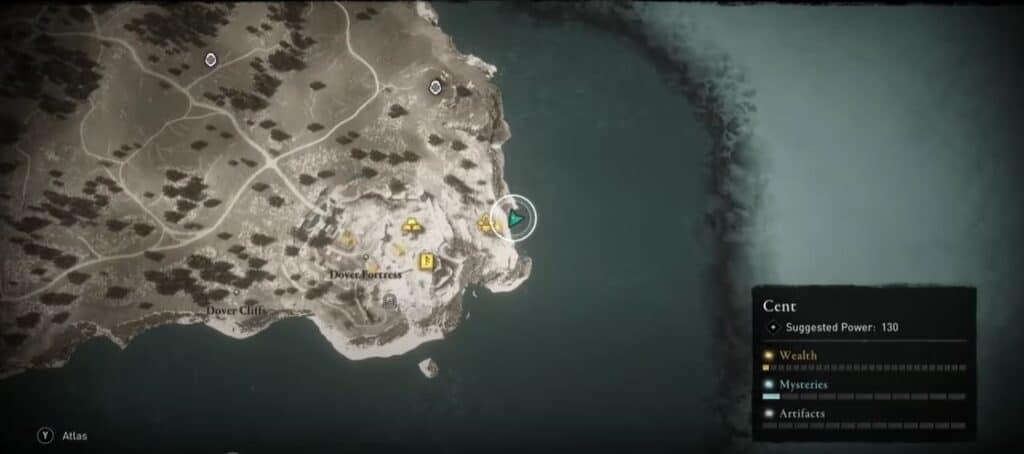 Localización de los Pantalones de Brigantina en Assassin's Creed Valhalla