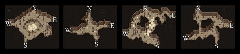 Pits de los reinos divididos en la guía de navegación de Kaifek