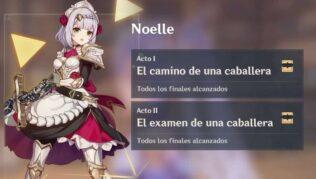 Genshin Impact Todos los recuerdos de Noelle en el encuentro: El examen de una caballera
