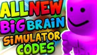 Roblox Big Brain Simulator - Lista de Códigos Julio 2021