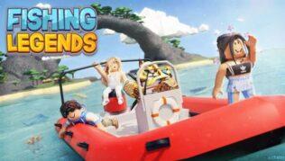 Roblox Fishing Legends - Lista de Códigos (Mayo 2021)