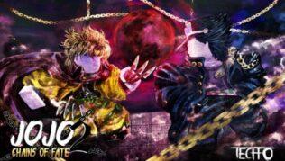 Roblox Jojo Chains of Fate 2 - Lista de Códigos Septiembre 2021
