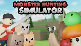 Roblox Monster Hunting Simulator - Lista de Códigos Septiembre 2021