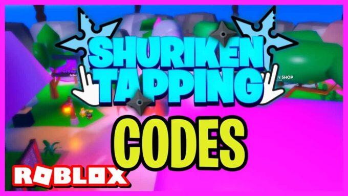 Roblox Shuriken Tapping - Lista de Códigos Abril 2021