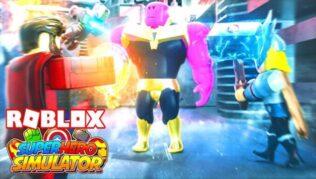 Roblox Superhero Simulator - Kodeliste oktober 2021