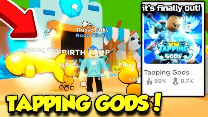 Roblox Tapping Gods - Lista de Códigos Septiembre 2021
